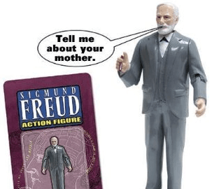 Sigmund Freud Action Figure